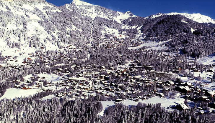 Villars, a beautiful resort in Switzerland and close to Geneva.