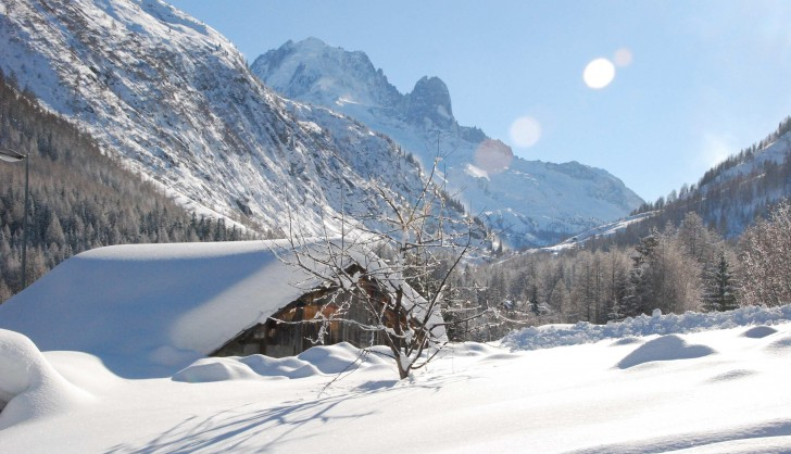 Vallorcine in the Winter - Chamonix Valley - France