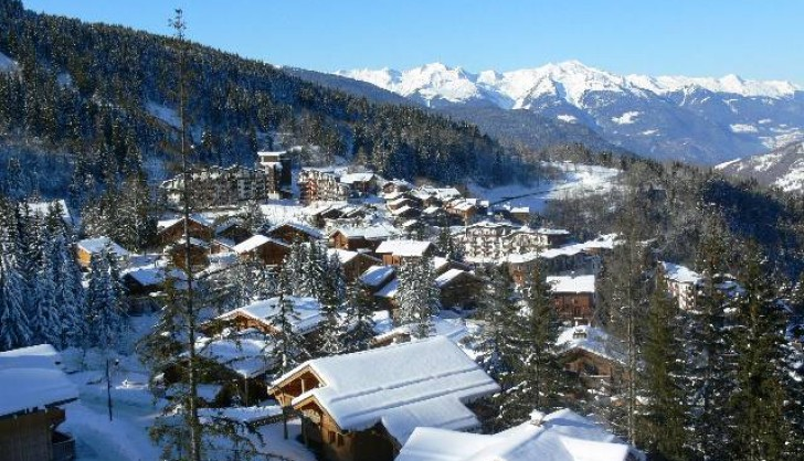 The village of La Tania