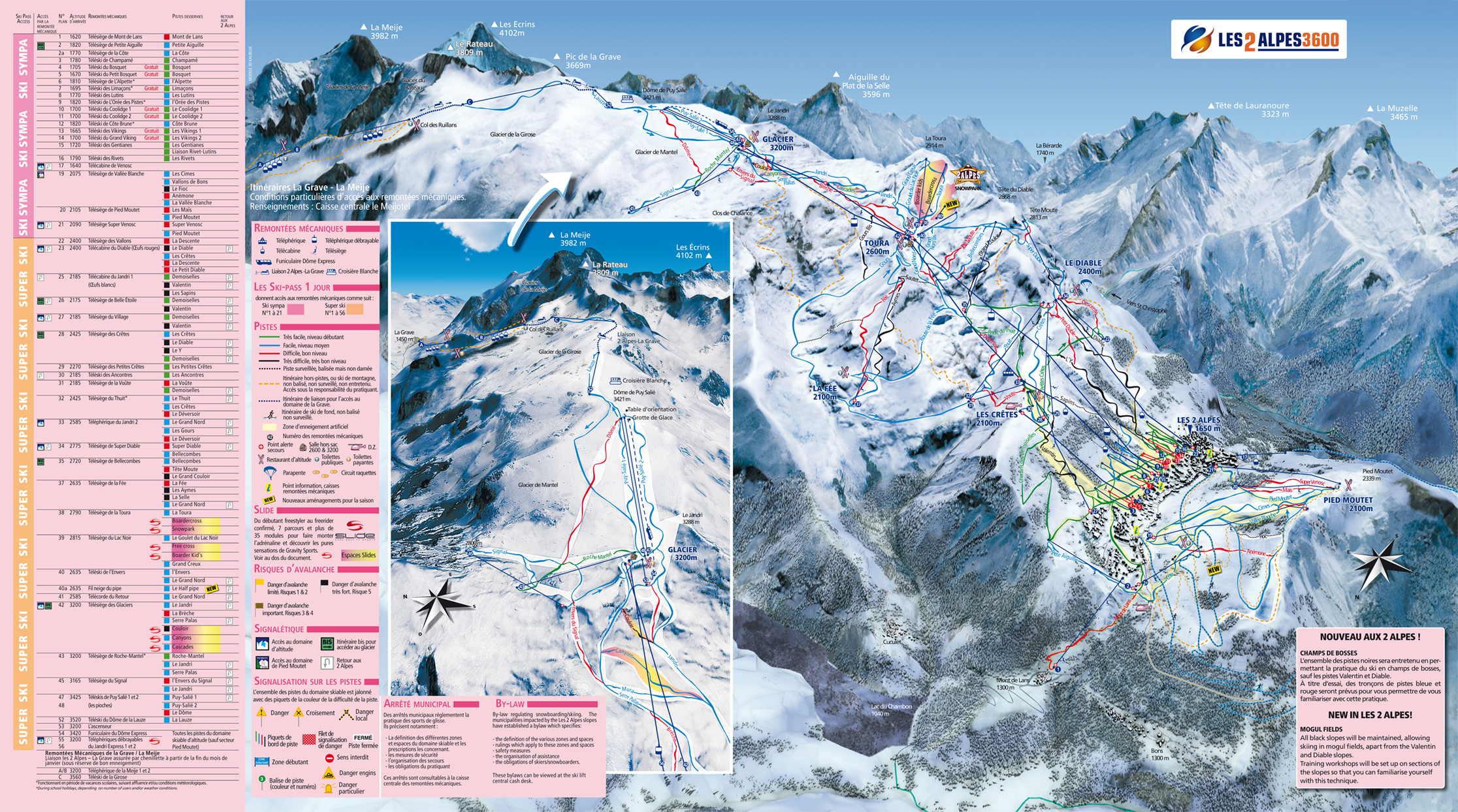 Travel Information Getting to Les Deux Alpes PowderBeds