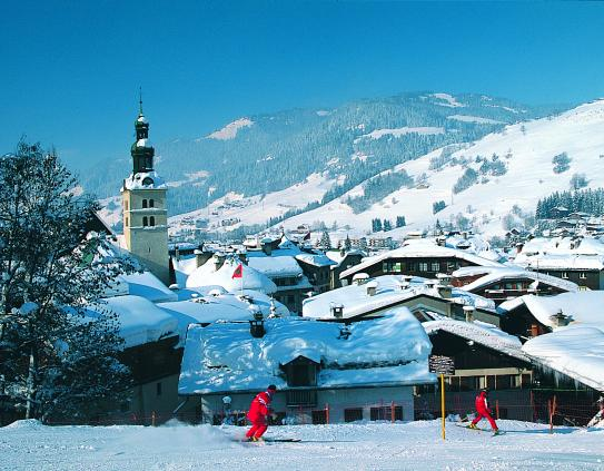 The town of Megeve