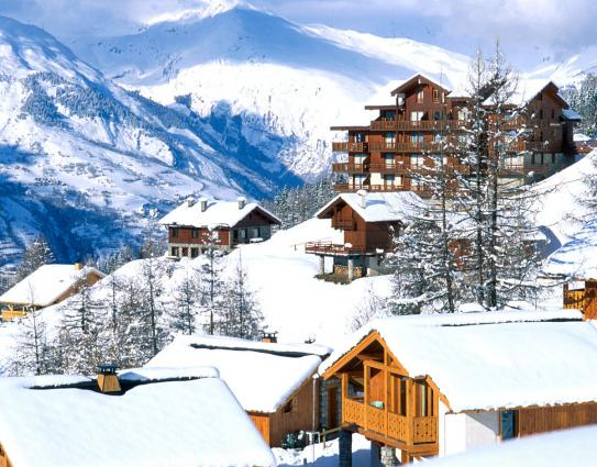The resort of Peisey- Vallandry