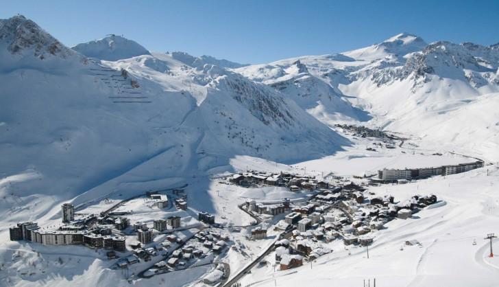 ski tignes powderbeds