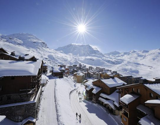 Val Thorens Piste Maps And Ski Resort Map Powderbeds