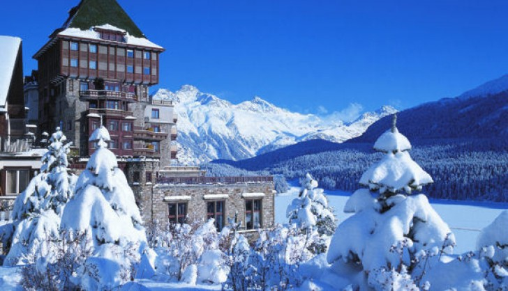 St Moritz Ski Resort Switzerland