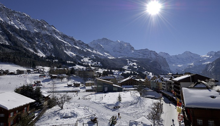 Wengen Ski Resort Switzerland
