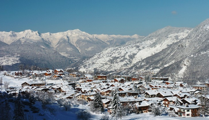 Courchevel ski resort; Copyright: Courchevel Tourist Office