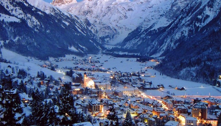 View Of Engelberg Ski Resort Switzerland