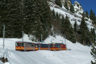 The local train to Villars