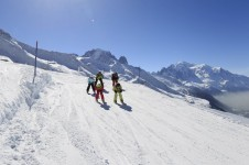 Kids will have a great time learning at Vallorcine; Copyright: Monica Dalmasso - Chamonix Tourist Office