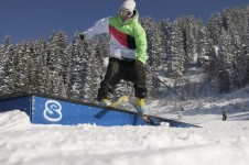 Learn basic tricks in the Smoothpark; Copyright: Jean-François Vuarand – Châtel Tourisme