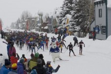 Ski event in Crested Butte