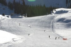 Wide runs in Crested Butte