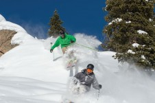 Advanced skiing in Crested Butte