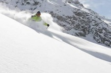 Sainte Foy's free-skiing in deep Tarrentaise powder