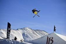 Breckenridge is renowned for a high level of freestyle skiing and snowboarding with four terrain parks and three half pipes.