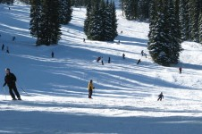 A great resort for learning with loads of easy runs and an excellent ski school.