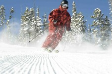 There are all types of terrain available to intermediate skiers in Winter Park, every safe back country in the Parsenn Bowl.
