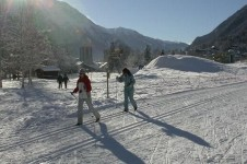 There's some great cross country ski trails in Alpe d'Huez