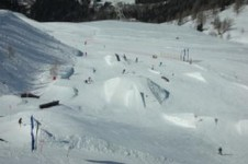 Check out the new snow sports park in Les Grands Montets, perfect for all levels of freestyle