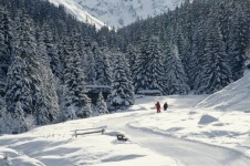 Cross country skiing - Courchevel
