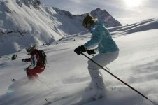 The ski area around Courchevel is an intermediate's paradise, with its long, gentle and sweeping blue runs