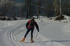 The Méribel/La Tania ski areas are linked over to Courchevel and offer a Nordic skiing area of 90km