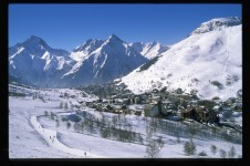 Cross-country skiing in Les Deux Alpes