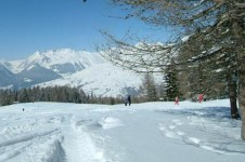 There's a lot to explore on foot and cross country ski in Les Coches