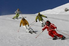 Move from intermediate to expert with great lessons from the ESF Montchavin-Les Coches Ski School