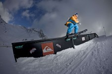 Freestyle event in La Plagne above Les Coches