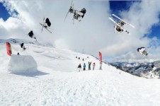 For freestyle check out Les 3 Vallées Moon Park which offers coaching for all levels