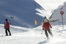 Intermediate skiing in Alpe d'Huez