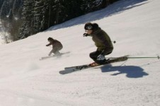 Morzine is loved by intermediate skiers with its long open runs and great pisted slopes