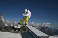 Learn freestyle tricks with the Mint Snowboard School