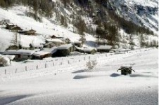 Cross country ski through the picturesque Vanoise National Park with its beautiful frozen waterfalls, mountains and forests