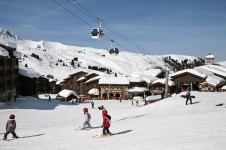 Beginners in Peisey - Vallandry