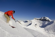 There's a huge variety of challenging terrain in Lake Louise that is perfect for expert skiers