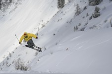 Plenty of opportunities for snowboarders and freestyle skiers