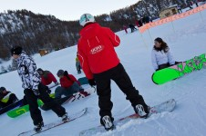 Learning to Snowboard is fun and easy, especially in one of Serre Chevalier group snowboard lessons