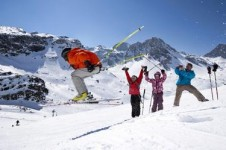 There's fantastic terrain and fun to be had by intermediate skiers on Tignes' ski slopes