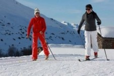 For cross country skiing head to St Martin de Belleville with plenty of tracks to choose from