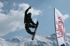 Plenty of features in Valfrejus for snowboarders to enjoy