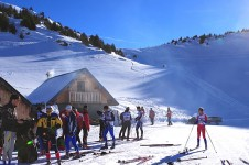 Cross country skiing is popular in Valmorel, try it for yourself and glide along some of its beautiful trails
