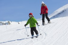 Valmorel offers a fantastic number of easy cruising runs for intermediates