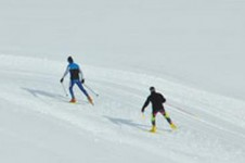 The cross country skiing in Vars is enjoyable for everyone with both easy and more challenging trails