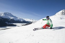 Intermediates will not be disappointed in St Moritz with its huge selection of groomed slopes
