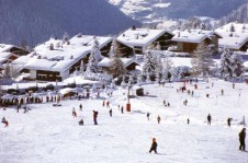 Fantastically located beginner slopes, just a stone throw from Verbier village