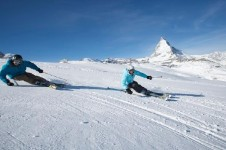 Really get the legs burning and speed your way across Zermatt's beautifully pisted intermediate slopes