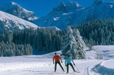 Cross country skiing is the perfect activity if you're looking for a peaceful day in the Engelberg's wilderness